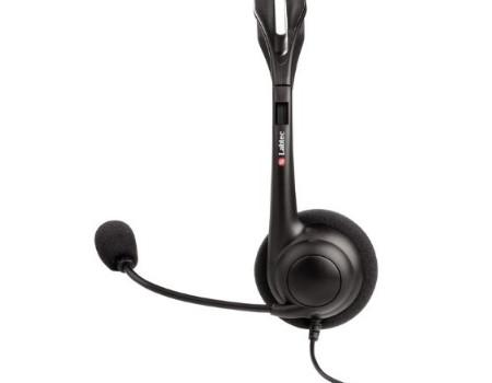 labtec 442 gaming pc headset nackenb gel gamer mikrofon regler neu dhl versand ebay. Black Bedroom Furniture Sets. Home Design Ideas